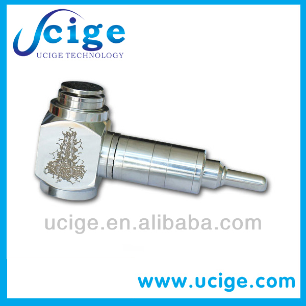 New dry herb vaporizer stainless steel hammer ecig mod on sales by ucige