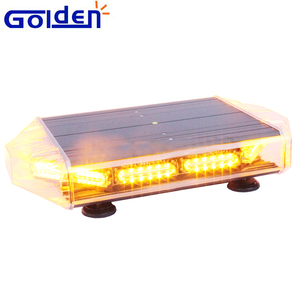 Roof magnetic mount tower snow plow mini truck led lightbar amber warning lights