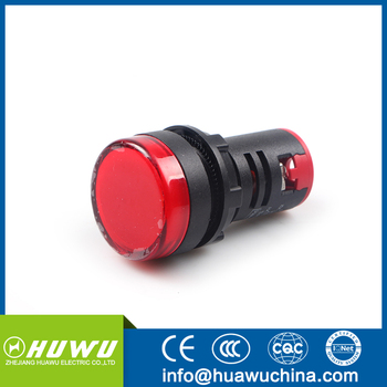 Huawu Pilot Light Pushbutton Switch Ad22 Led Signal Lamp Pilot Lamp Indicator Light White Buy Pilot Lamp Led Light Illuminated Pushbutton