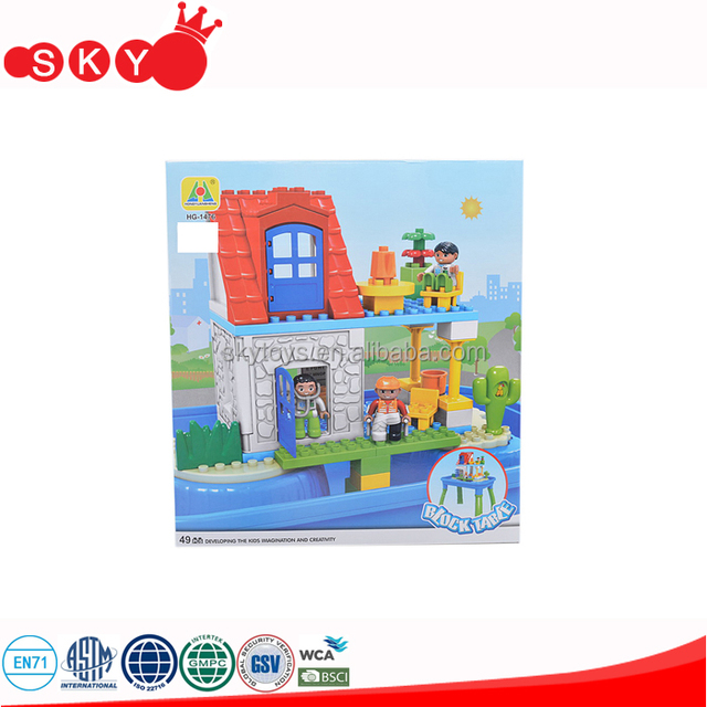 Central Hospital Educational Block Play Table Building Blocks Table Kids  Building Toys