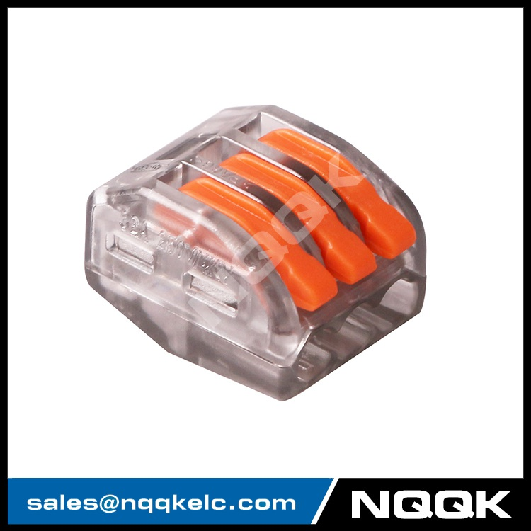 NK994 222 213 Plug spring clamp connector cage universal terminal compact splicing connector