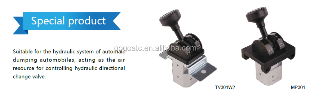 Suitable for the hydraulic system of automaic dumping automobiles air control valve