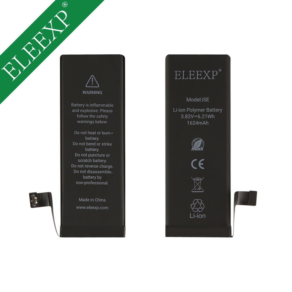 Cell bateria do telefone 1560 mAh da bateria original para o iphone 5g 5S SE