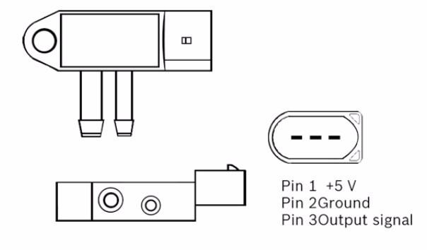 Dpf Exhaust Pressure Sensor 95860615110 95560615100 - Buy Dpf  Sensor,95860615110,95560615100 Product on Alibaba com