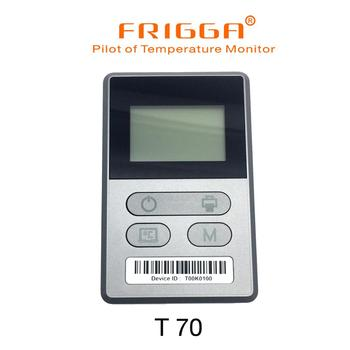 Rechargeable real timeTemperature data logger for Fresh and frozen Food