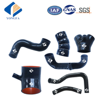High performance silicone turbo intercooler pipe boost hose kit