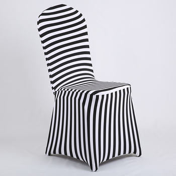 striped spandex chair covers for banquet dining chairs hotel chairs wedding chairs