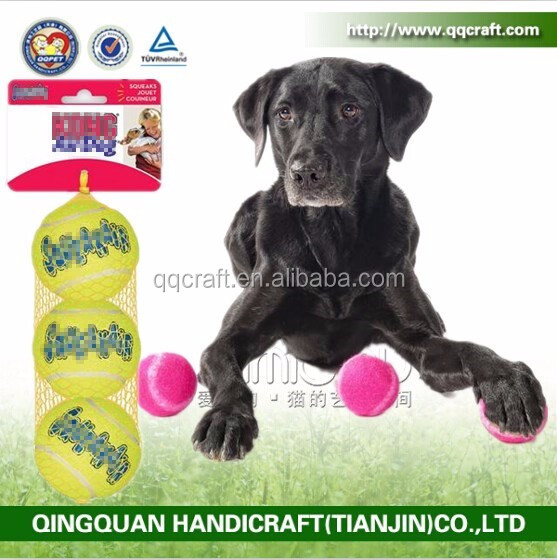 Dog Squeakair Dog Toy Tennis Balls