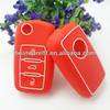 Funny silicone car Remote key Shell Cover For Volkswagen, POLO,Passat,Tiguan,Touareg,Touran,Golf 3 buttons keys