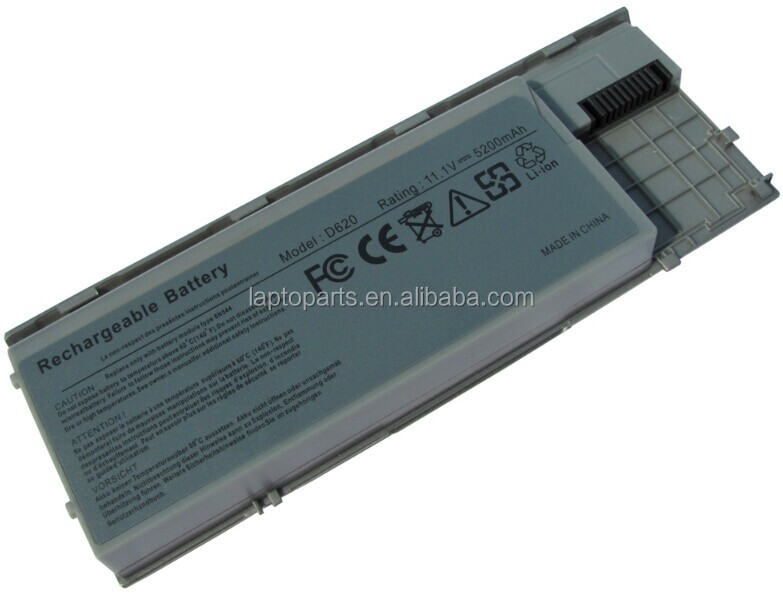 Rechargeable laptop battery for dell latitude d620 d630 JD634 series