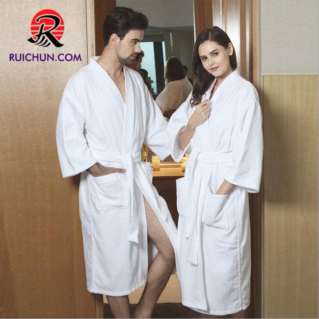 Textiles Promotional Bathrobe For Hotel