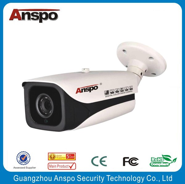 "Good Quality H.265 5MP 1/1.8"" Scan CMOS Waterproof Bullet IP Camera with 4 KOZ Area"