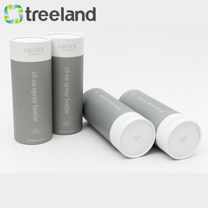 Rigid Round Box 3 Piece Telescopic Paper Tube T-shirt Packaging