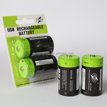 Beautiful Performance Znter D Size Rechargeable Battery For Water Heater