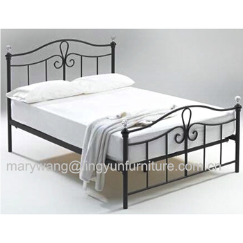 Bedroom Use Metal Bed Diy Iron Bed - Buy Cheap Iron Beds,Iron Single ...