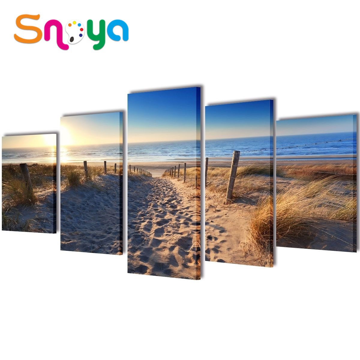 Various size wood frames for photo printing wholesale custom canvas prints on canvas