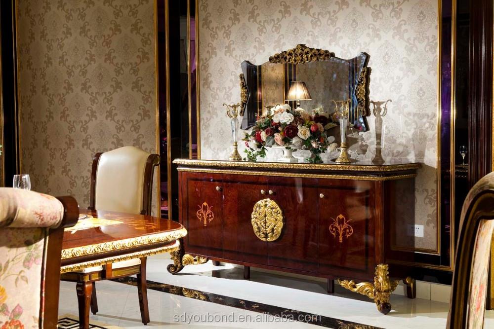 Credenza Per Sala Da Pranzo : Classico di lusso sala da pranzo credenza lucido fatto a mano