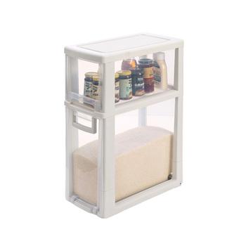 Lade In Kast.2018 Nieuwe Ontwerp Hoge Kwaliteit Plastic Lade Unit Kast Rijst Container Opbergdoos Voor Keuken Buy Plastic Lade Unit Keuken Lade Kast Lade Doos
