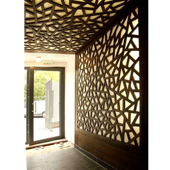 Promotional Wholesale Balcony Divider Screen Ceiling Roses