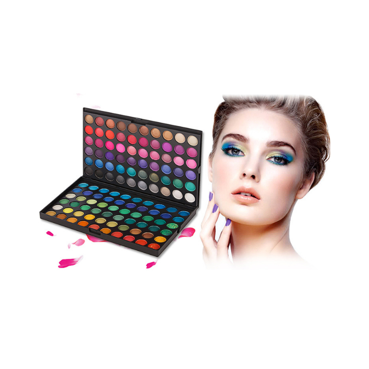 Eyeshadow Palette Private Label 120 Kleur Palet Professionele Make-Up Oogschaduw Hoge Pigment Oogschaduw