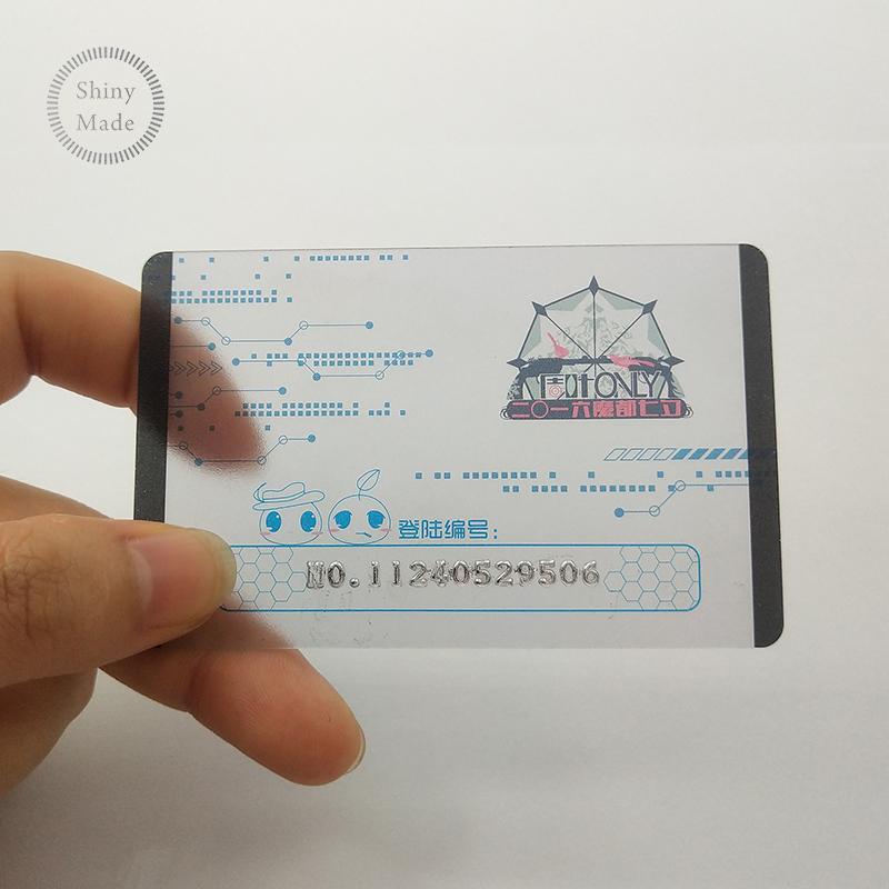 In acciaio inox taglio del laser del metallo biglietto da visita all'ingrosso