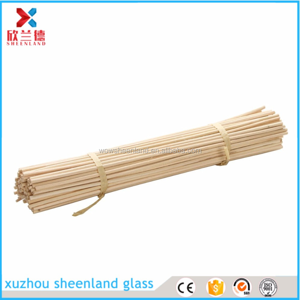 100 Pieces Reed Diffuser Sticks Wood Rattan Reed Sticks Essential Oil Aroma Diffuser Sticks