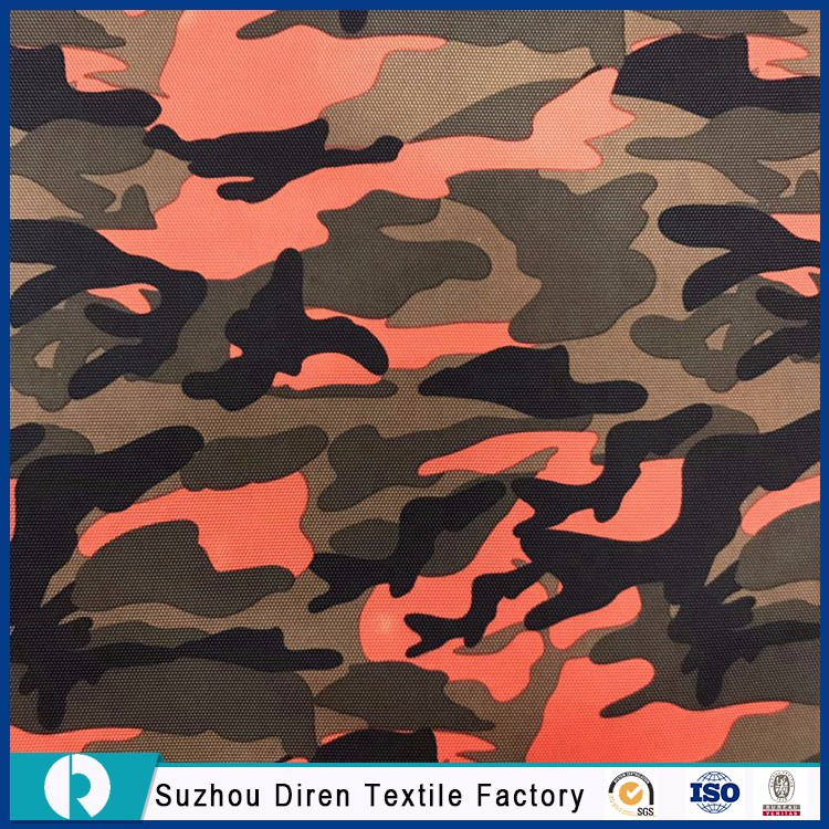 Factory Pvc Coated Oxford Polyester Bag Fabric