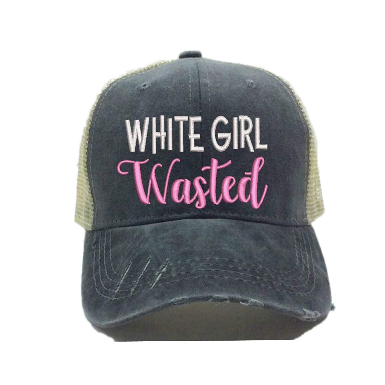 Adult Custom Distressed Trucker Hat