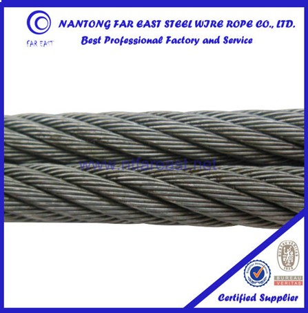 EXPORT TO EGYPT BRIGHT UNGALVANIZED 8X19S+FC 10MM ELEVATOR STEEL CABLE ROPE
