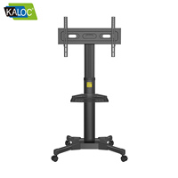 "Kaloc brand home use Mobile tv stand mount for 32"" to 55"" TV"