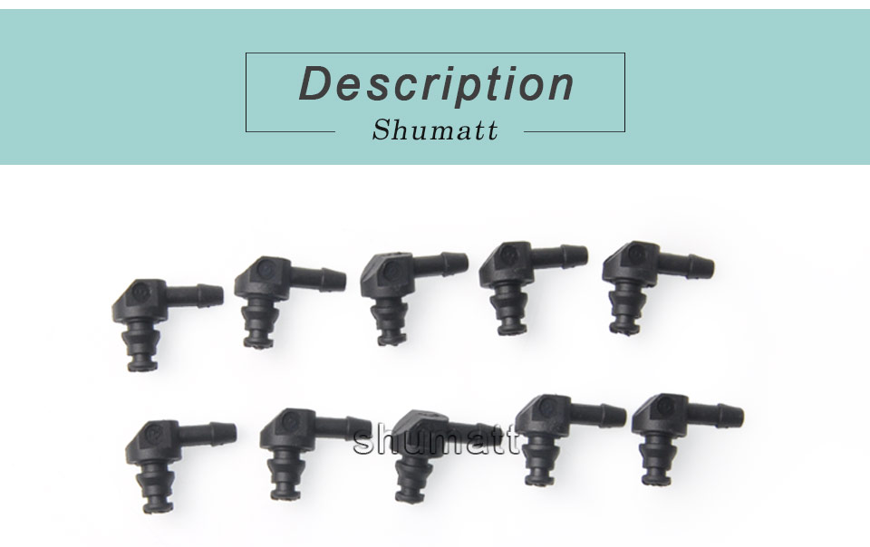 Bosch 110 diesel common rail injectors oil backflow pipe two-way plastic joint fitting 10pcs (1).jpg