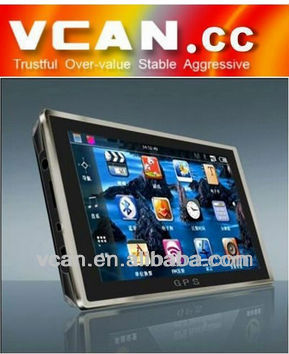 VCAN0105 5 inch TFT-LCD screen GPS Navigation with FM,Multimedia,Picture,Game