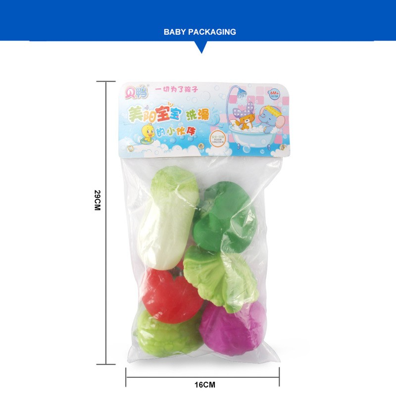 №fruits And Vegetables Baby ⊰ Bath Bath Toy Munchking