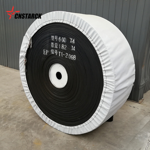 Customized cold resistant/frozen NN/EP/CC rubber conveyor belt