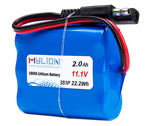 Factory price 11.1 volt li ion battery cell 2600mah li-ion battery pack
