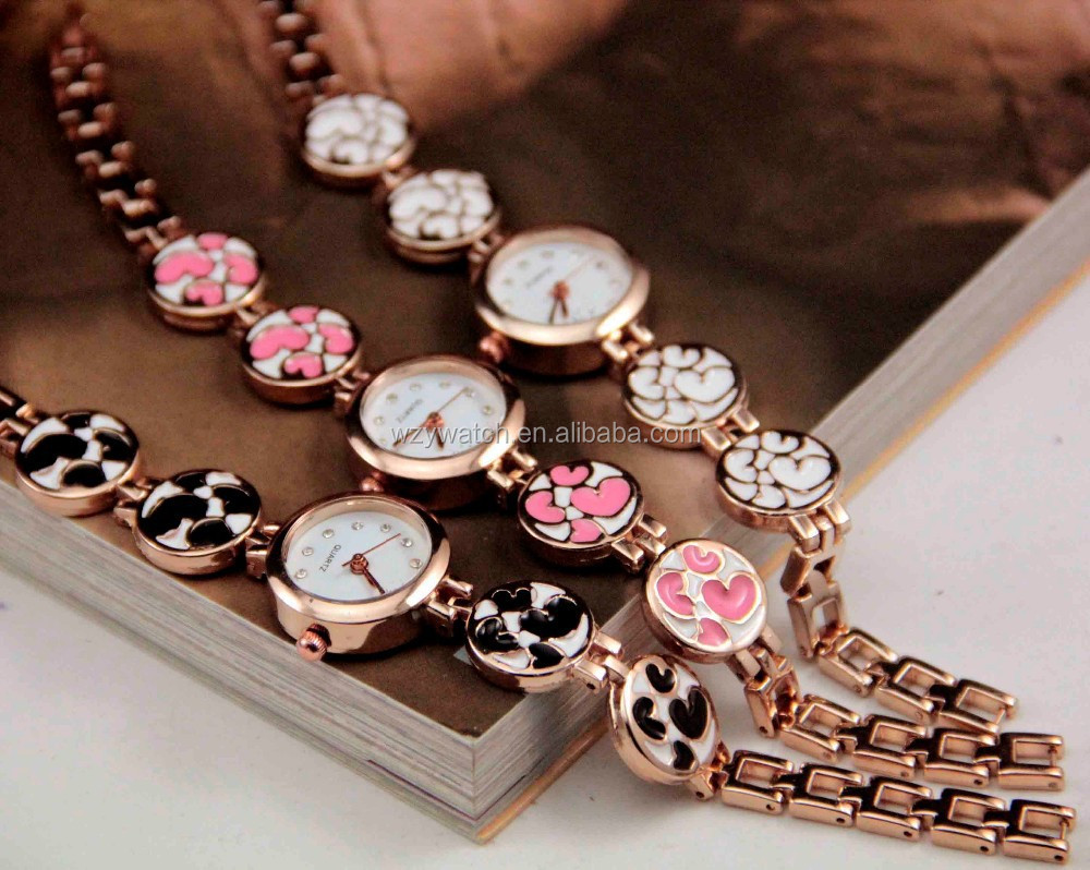 Wholesale Girls Hand Chain Watch For Gift Different Colors Drop ...
