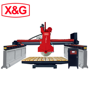Automatic stone marble granite bridge saw cutting machine for sale