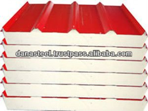 Puf Sandwich Panels Roof/wall Manufacturer Bahrain - Dana Steel - Buy  Sandwich Panel Roof Sheet,Sandwich Panel Roof Sheet Product on Alibaba com