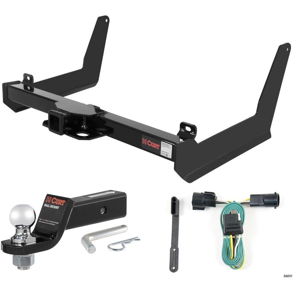 "CURT Class 3 Trailer Hitch Tow Package with 2"" Ball for 2006-2008 Ford F-150"
