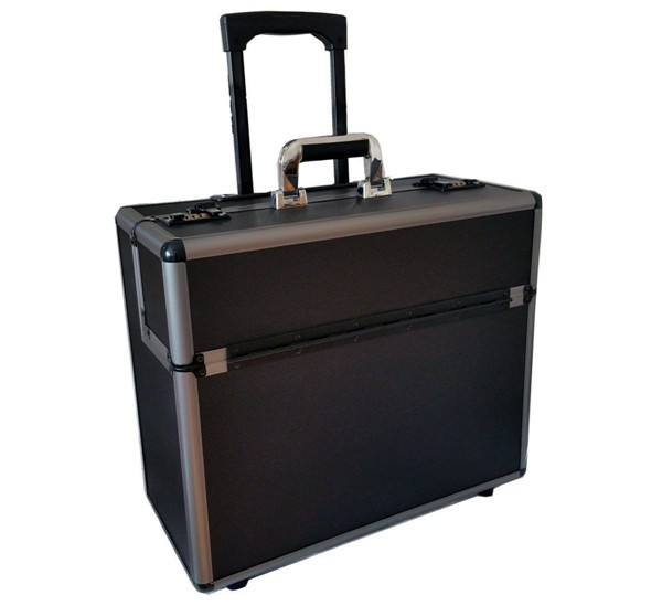 Travel Trolley Case Suitcase Spinner Hand Luggage Check-in Hold Luggage Expandable Strong Lightweight Oxford Cloth Business Small Universal Wheel GAOFENG Color : Purple-D, Size : 18 inches