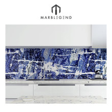 sodalite blue jasper big projects used honed surface natural blue onyx marble tile