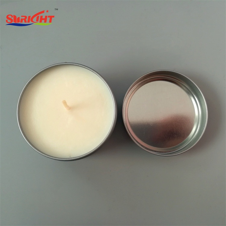 OEM Sticker Natural Soy Wax Novely Tin Candles