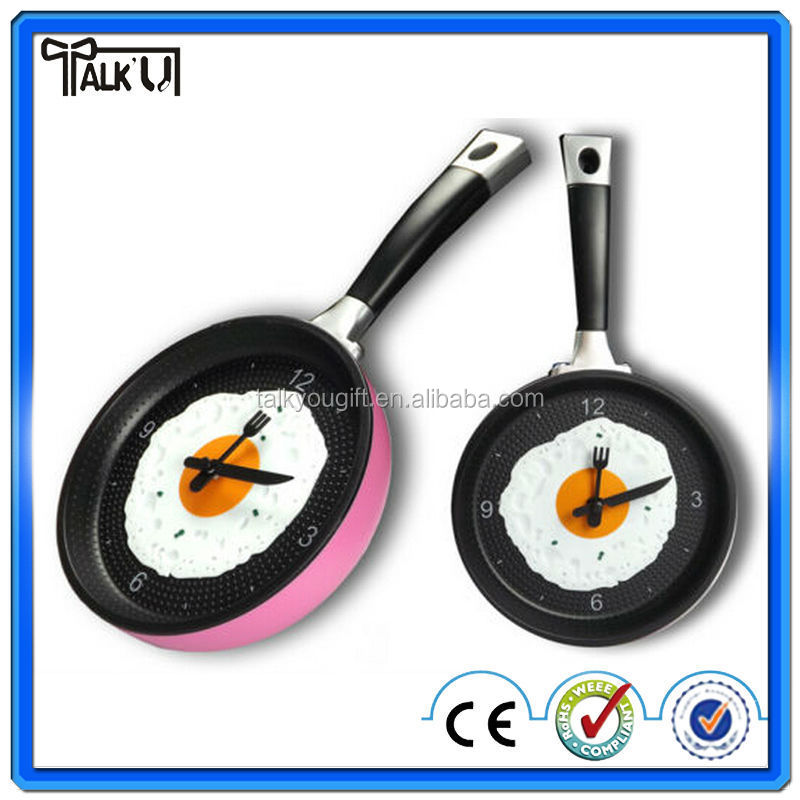 Frying Pan Wall Clock Supplieranufacturers At Alibaba