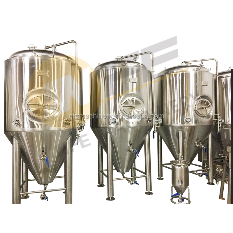 Pub hotel restaurant Brewery used industrial craft beer brew kettle stainless steel unitank 16 bbl beer conical fermenter