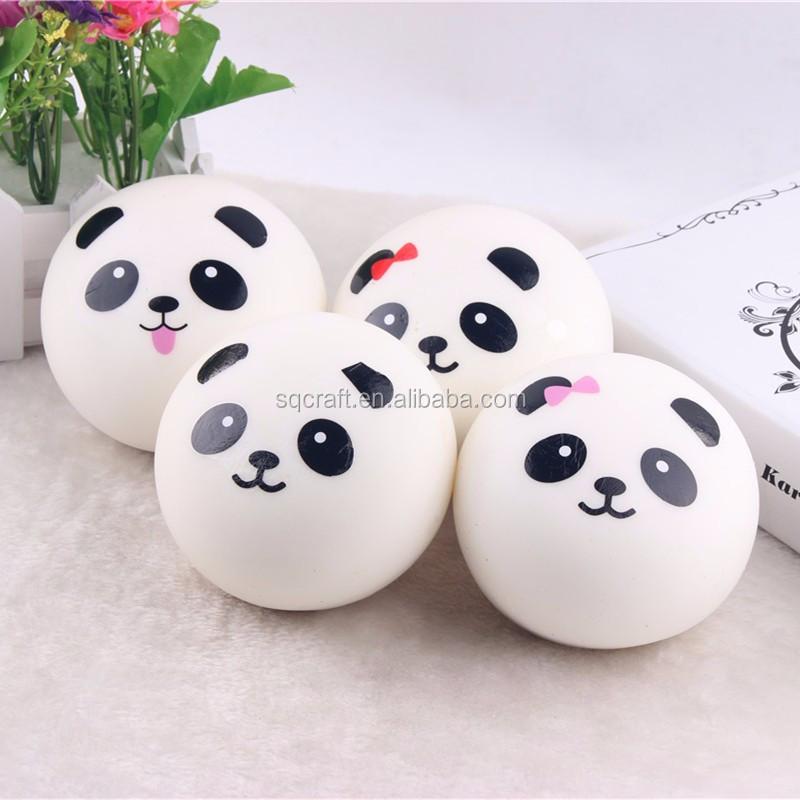10cm 7cm 4cm slow rising panda bear bun squishy cellphone