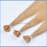 All express hongkong products wholesale keratin protein hair buying from russia charming darling hair remy flat tip