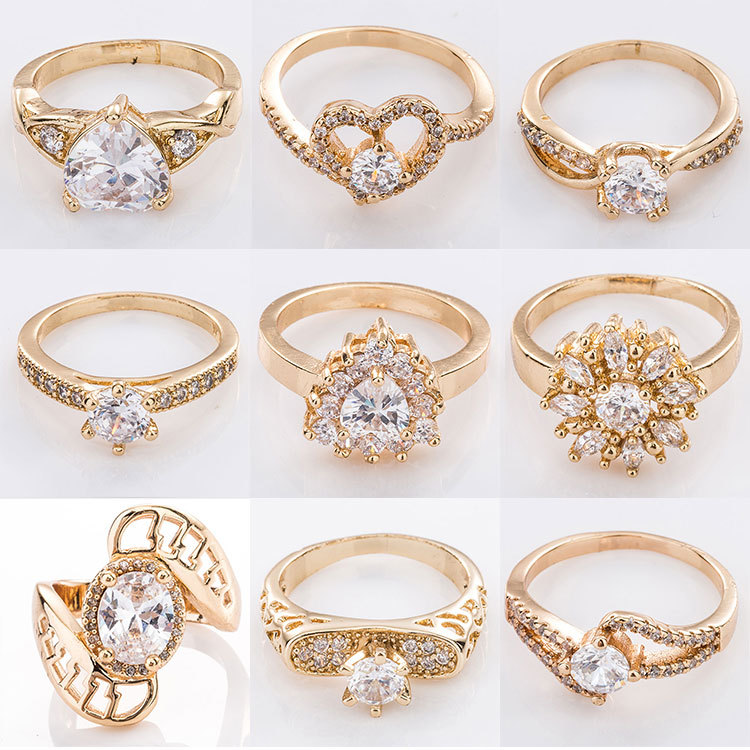 Dubai Simple Latest Gold Ring Designs For Girl And Woman - Buy ...