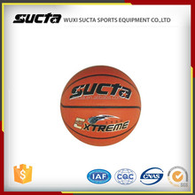 Most popular ball style college basketball with PU material
