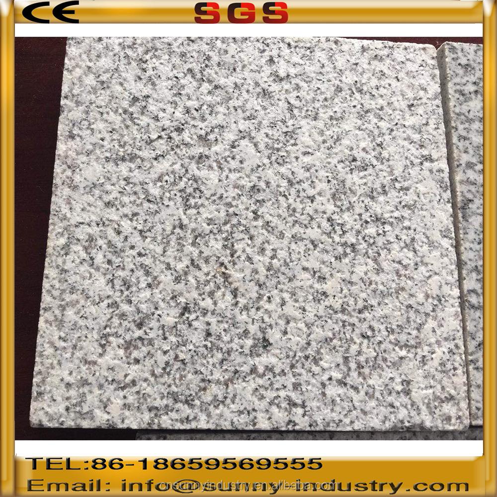 precio bajo y buena calidad de la fbrica china piedra de granito flameado baldosas de granito