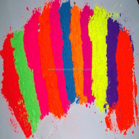 Violet shining Fluorescent Pigment for paint,plastic, ink